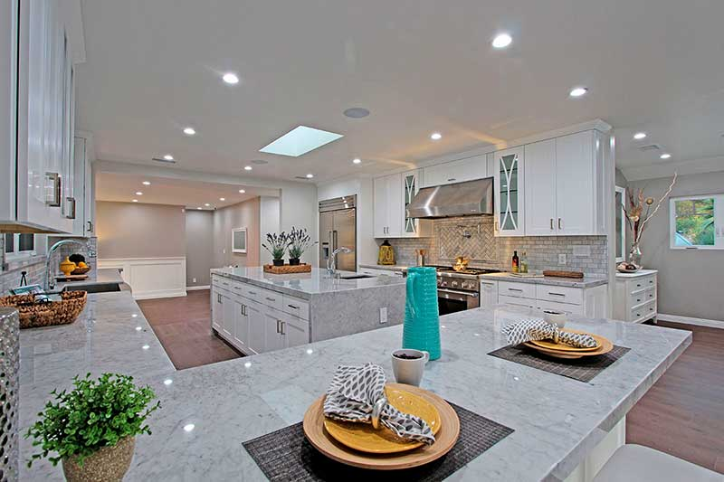 16635 Oldham St Kitchen Renovated by Sandlot Homes of Encino, Ca