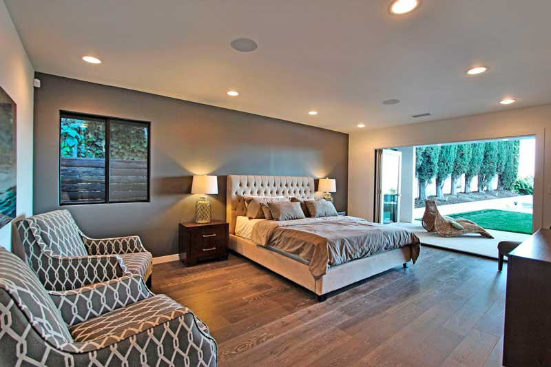 3529 Caribeth Dr Master Bedroom Renovated by Sandlot Homes of Encino,CA